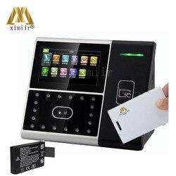 Gezicht + ic-kaart presentielijst apparaat Iface301 tijdregistratie linux systeem gezicht tijdregistratie opkomst machine met backup batterij