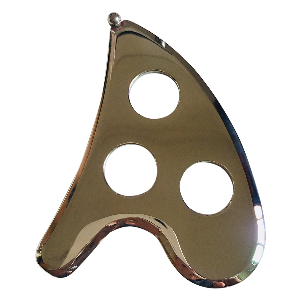 Gua Sha Scraping Massage Tools Stainless Steel GuaSha Plate Physical Therapy DC88