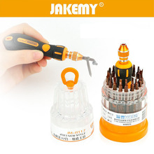 JAKEMY Multipurpose Screwdriver Set 37 in 1 Interchangeable Precision Portable Electronic Repair Hardware Tool