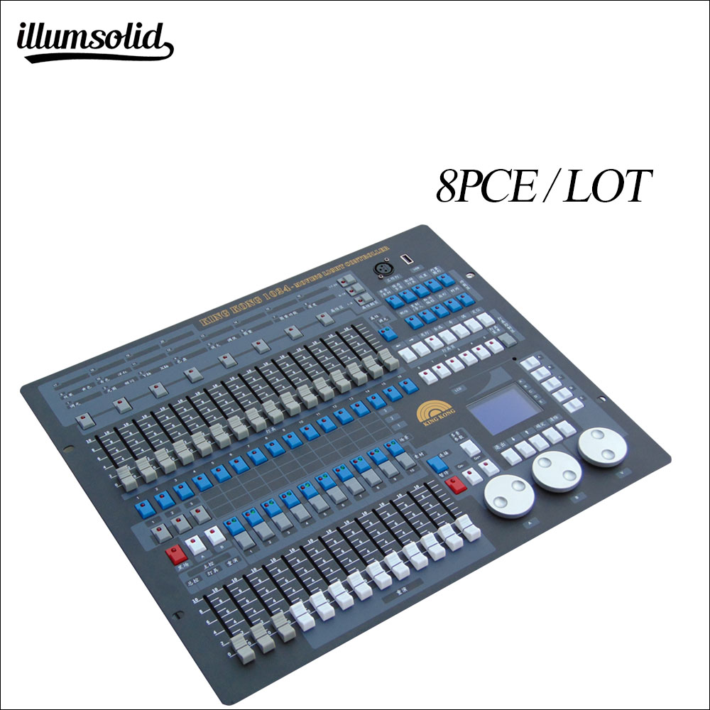 Dmx 1024 Console Professional Dj Equipment Multi-function Controller 8pieces/lot
