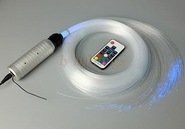 Diy decorazione della casa kit di illuminazione a fiber ottiche