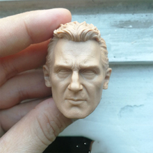 1/6 Liam Neeson Unpainted Head for 12Action Figures