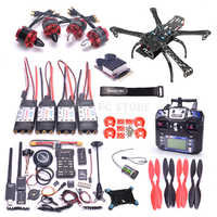 X500 500 500mm Quadcotper Rahmen Kit Pixhawk 2.4.8 32 Bit Flight Controller M8N GPS 433Mhz telemetrie Mini OSD PPM RGB I2C