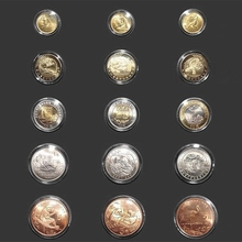 20pcs Coin Capsules Coin Holder Box