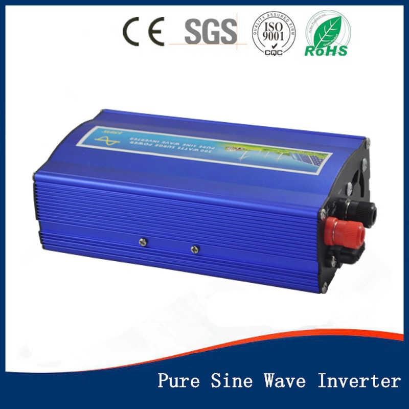 Inversor de onda sinusoidal pura de 300 W 12/24/48 V a 100/110/120/240 /pantalla LED inversor de alta frecuencia de 230/220 V, CE aprobado