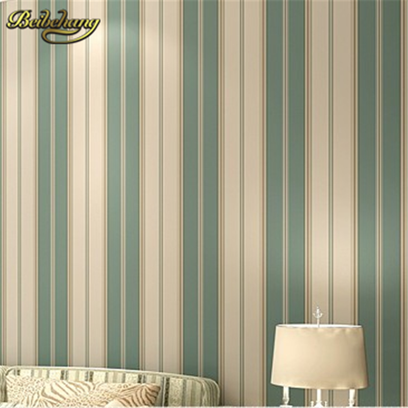 beibehang papel de parede. Boys bedroom wallpaper modern wallpaper pvc wallpaper stripe wall paper blue wall covering beibehang papel de parede girls bedroom modern wallpaper stripe wall paper background wall wallpaper for living room bedroom wa