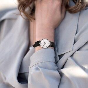 Image 3 - AGELOCER العلامة التجارية السويسرية الفاخرة السيدات ساعة موضة جلدية المعصم كوارتز فتاة ساعة للنساء فستان ساعات ساعة Relogio Feminino