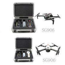 SG906 gps 5G wifi FPV с 4 K Ультра прозрачная камера бесщеточный селфи складной оптический поток позиционирования Hover RC Дрон Квадрокоптер RT