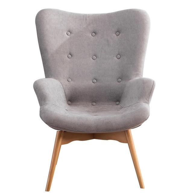 Mid Century Modern Relaxed Armchair 5