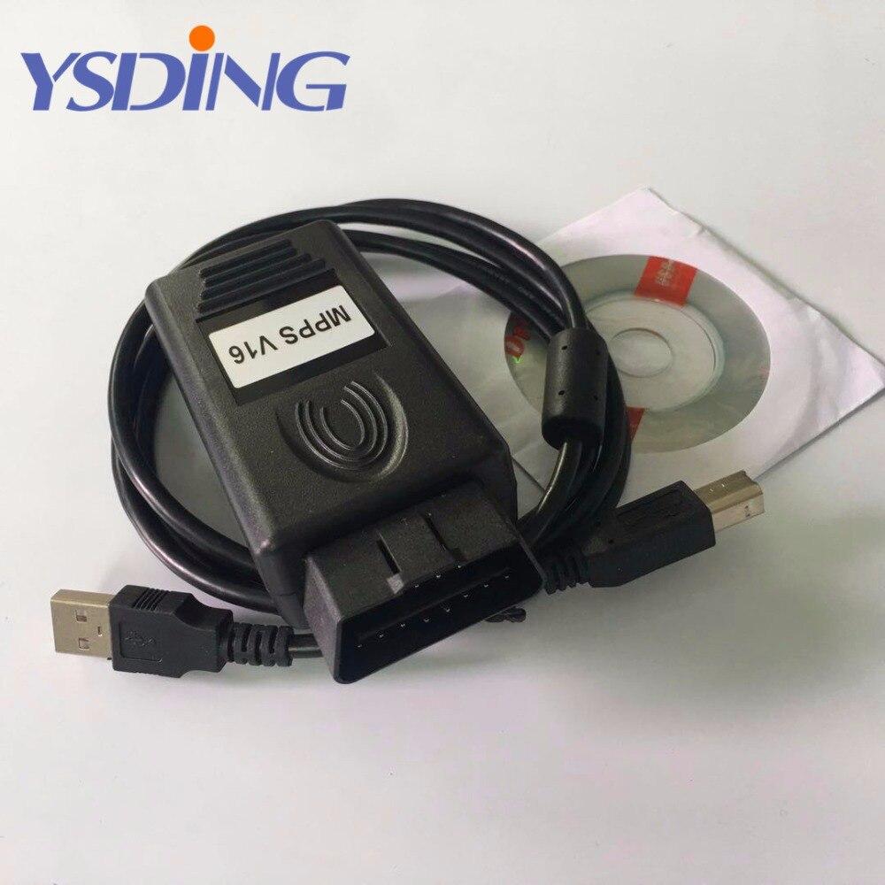 ECU Chip Tuning Tool MPPS V16 OBD2 Auto Car Diagnostic Tool