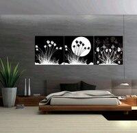 2016 Cuadros 낙진 회화 3 개 추상 캔버스 벽 패널 홈 장식 예술 사진 페인트 인쇄 달