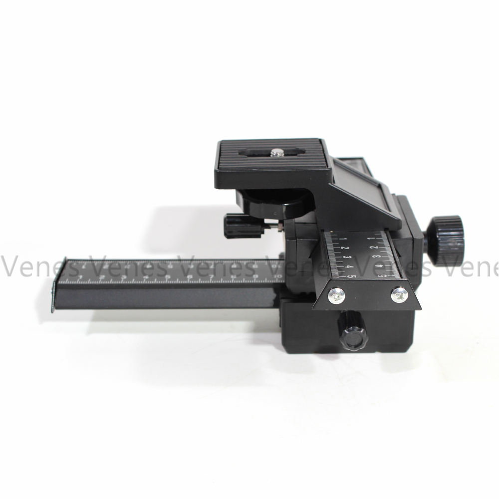 85fa5873fecc 4 Way Macro Shot Focusing Focus Rail Slider Suit for Canon for Nikon for  Sony Camera DSLR