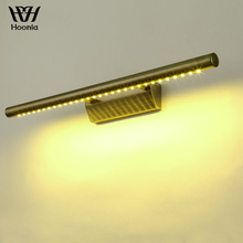 Free Shipping High Quality 5W 7W LED Wall Lamp Bronze Color Stainless Steel Material LED Wall Light 220V Bathroom Mirror Light