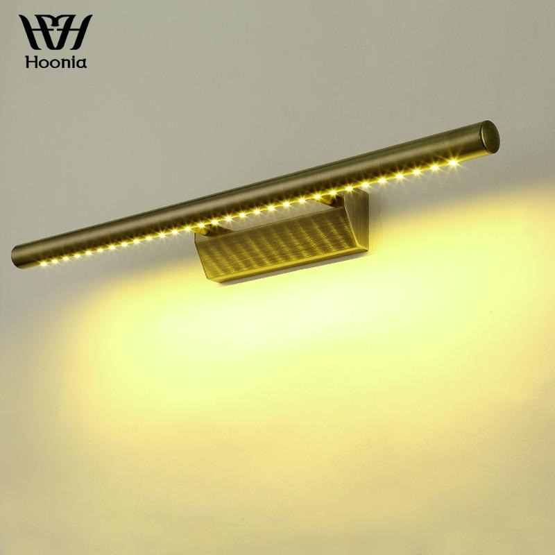 100% Wahr Freies Verschiffen Hohe Qualität 5 Watt 7 Watt Led Wand Lampe Bronze Farbe Edelstahl Material FÜhrte Wand Licht 220 V Bad Spiegel Licht Reines Und Mildes Aroma