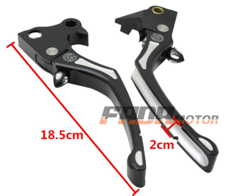 Motorcycle brake clutch lever suitable for Halley 883 1200 48 72 2004-2013 *2PCS цена