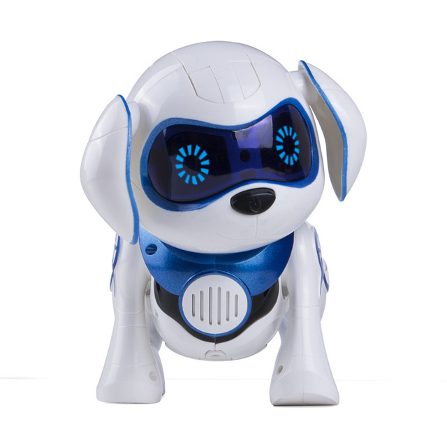 Electronic Pet Puppy Dog Remote Control Robot Dog Intelligent Dancing Walk Smart Dog Robots for Children New Year Christmas Gift