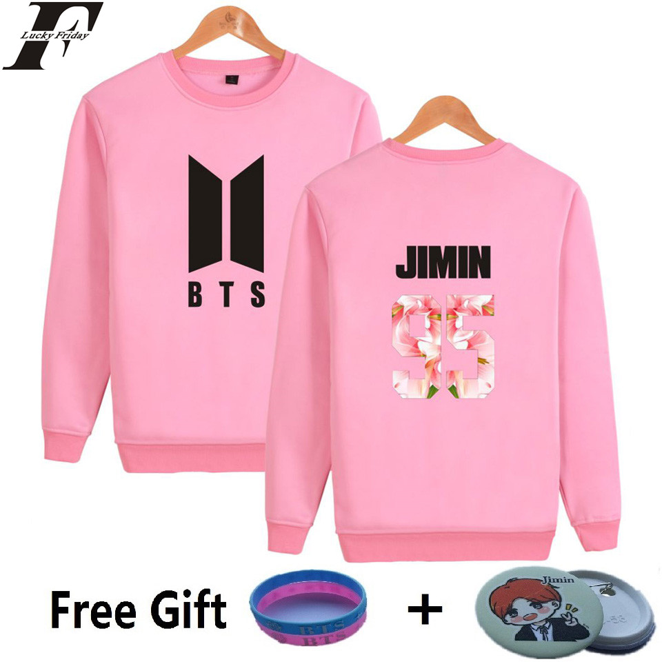BTS Kpop Sweatshirt Women Korean Bangtan Popular Hip Hop Fans Casual Harajuku Hoodies Women Autumn Female Funny JUNG KOOK Clothe