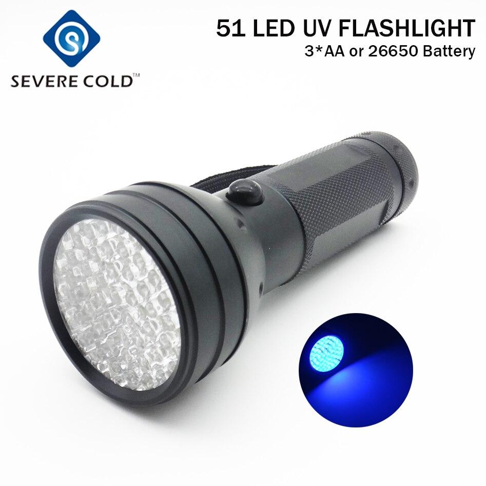 LED UV Scorpion Detector Torch Ultra Violet Blacklight Flashlight Hunter Finder
