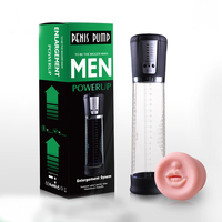 Automatic Operation Enhancer Penis Enlargement Vacuum Penis Pump Extender Man Sex Toys Penis Enlarger Adult Sexy Product for Men
