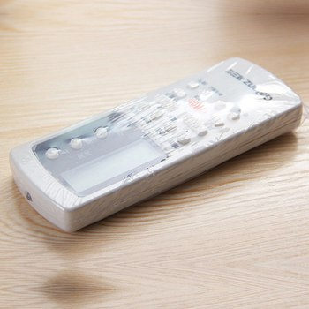 5 pcs PPC Heat Shrink Plastic Wrap Film TV Air-Conditioner Video Remote Control Screen Protect Cover Dust Proof Waterproof Film vasos sanitários coloridos