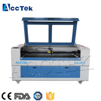 AKJ1610 3d co2 laser engraving machine with Rotary for crystal/glass cylinder laser engraving machine