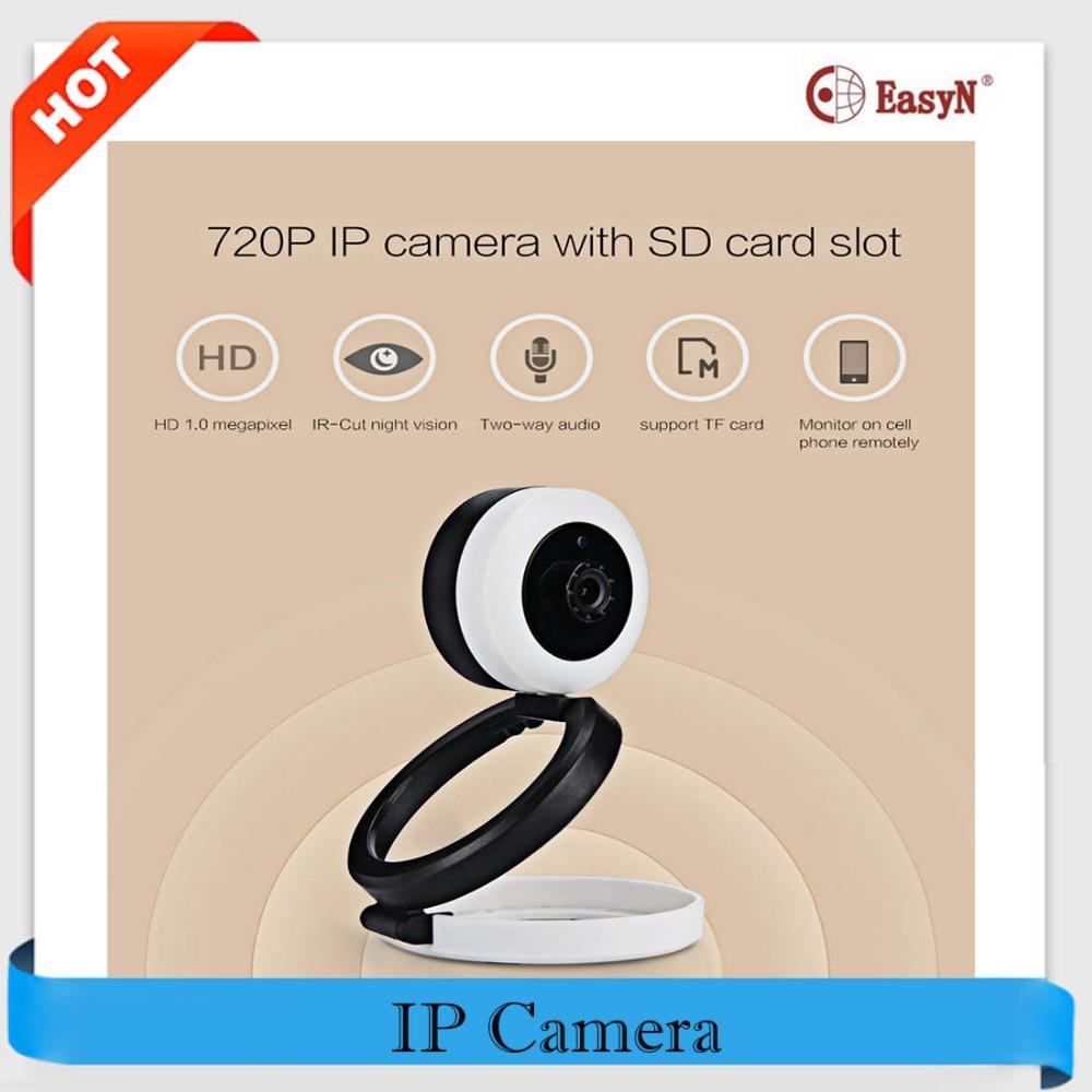 EasyN A115 Wireless IP Camera Wifi HD 720P H.264 CMOS Night Vision IR-Cut Surveillance Security Mini CCTV IP Camera for Indoor(China (Mainland))