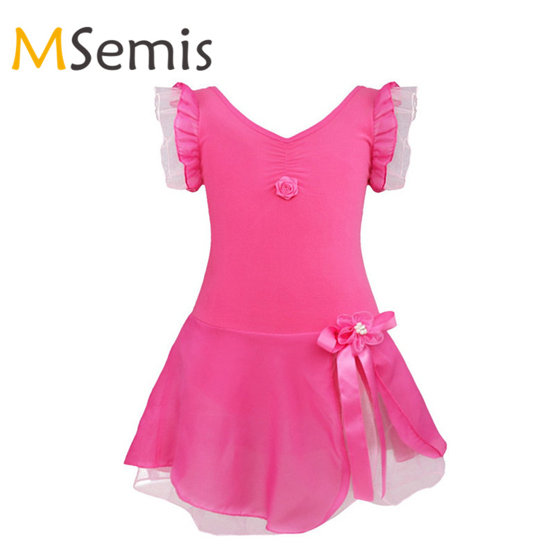 Mother & Kids Gymnastic Swimsuit Gymnastics Leotard Ballet Tutu Dance Dancing Skirt Dress Flat Body Suit Jumpsuit Swimwear Costumes Clothes Elegant In Smell