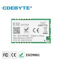 Ebyte E32-433T30S UART SX1278 SX1276 LoRa long range 8km SMD 433mhz 433MHz RF wireless transmitter and receiver module цена
