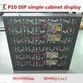 960*960 мм P10 DIP простой дисплей для наружной рекламы