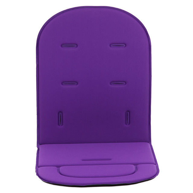 Car Seat Auto Seat Breathable Cotton Cushion Seat Seat Cushion Padded Insole Baby Stroller Accessories 80 x34 x1.35 cm purple