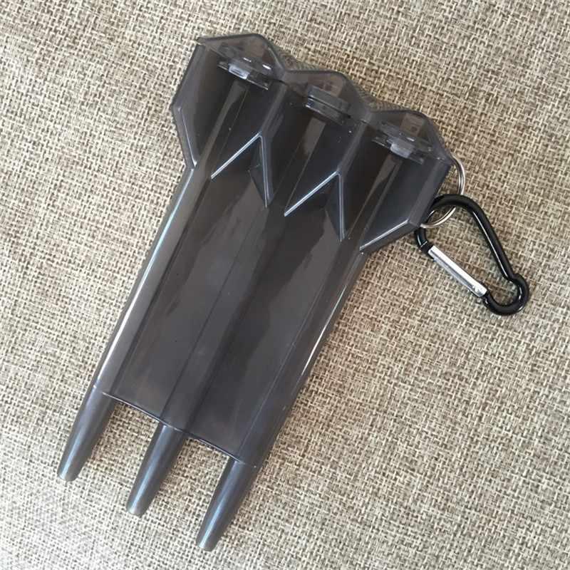 Черный Цвета dart поле Дартс Коробки для инструментов для Дартс профессиональной игры Dart Интимные аксессуары Пластик