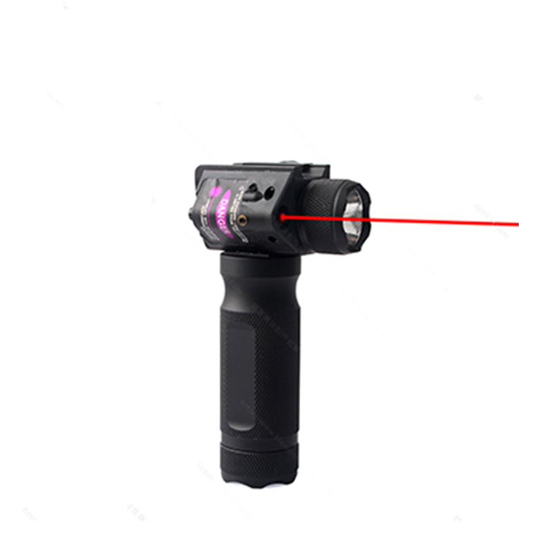 Outdoor Hunting Metal Laser Sight Strong Tactical Grip  Light Led Flashlight Lighting Handle 20mm Guide Rail Installation