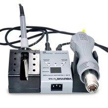 UYUE 8786 handy lcd screen repair tool set 2 in 1 Rework löten station mit Heißer luft gun solder eisen für schweißen