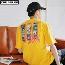 bd808cf79638 2019 Unisex Journey to the West Cartoon Print T-shirts 100% Cotton Harajuku  Style