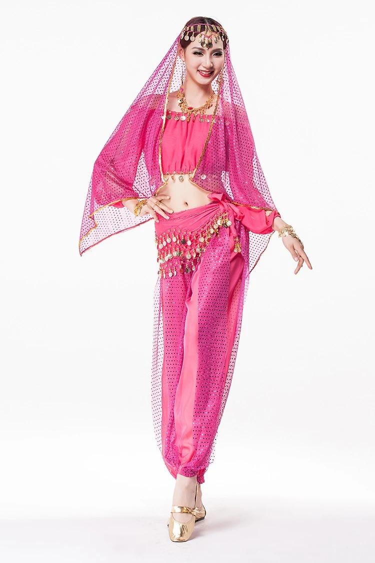 2016 hochwertige oriental bauchtanz kostüme set langen Ärmeln bauchtanz  bollywood indien indische kleidung vestidos für frauen