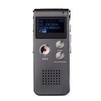 100 Newest 8GB Mini USB Voice Recorder Flash Digital Audio Voice Recorder 650Hr Dictaphone 3D Stereo