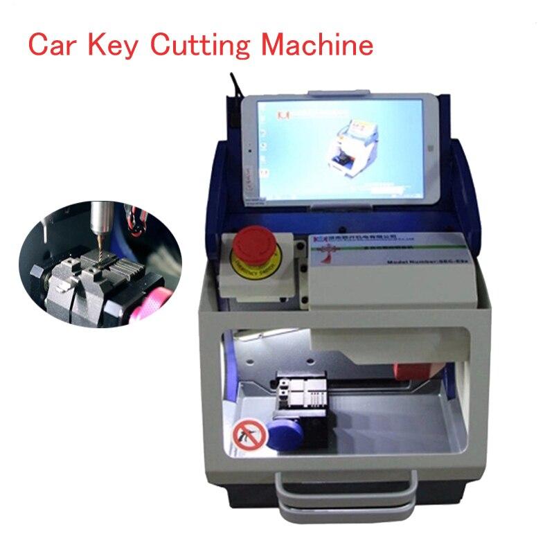 Полностью автоматическая машина для резки ключей с ЧПУ машина для SEC E9z ключей с последней базой данных ключей