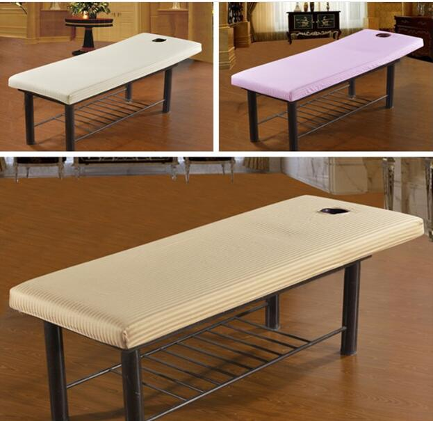 190 X 70cm Beauty Massage Towelling Bed Table Cover Salon Spa Couches SheetsMaterial:Cot ...
