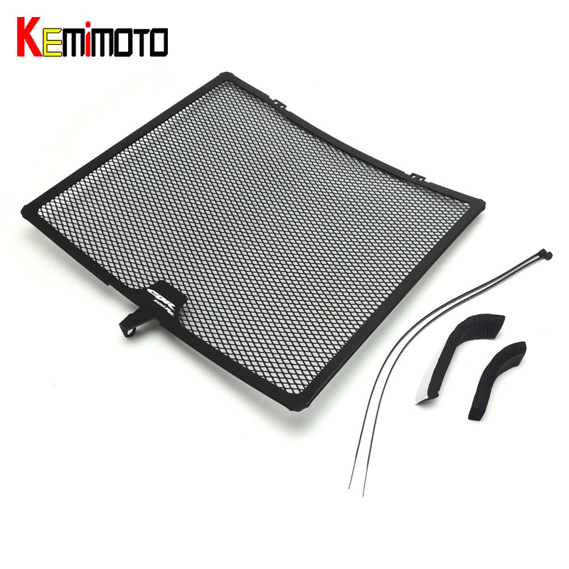 KEMiMOTO CBR 600 RR Aluminum Radiator Grills Guard Cover Grille for Honda CBR600RR 2007 2008 2009 2010 2011 2012 2013 2014 arashi motorcycle radiator grille protective cover grill guard protector for 2008 2009 2010 2011 honda cbr1000rr cbr 1000 rr