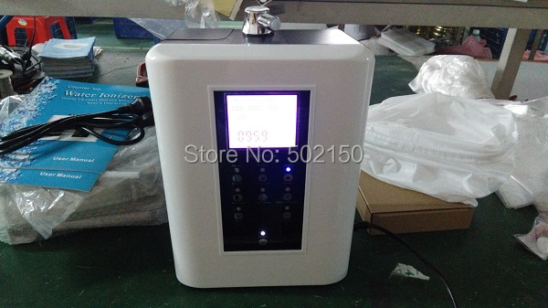 110V portable water ionizer with best water filter OH-806-3W 2016 brand new water ionizer filter with 3 plates and hot sale with best price 5pcs lot free shipping oh 806 3w