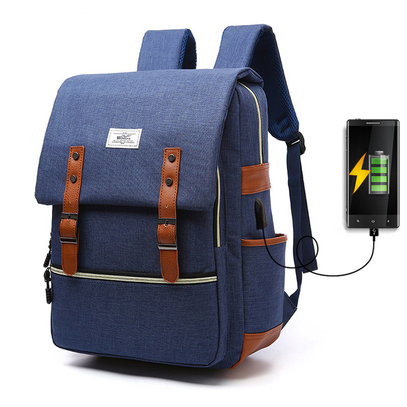 Women Backpacks Men Backpack USB Charging USB Backpack Men School Bag For Teenager Casual Travel Bags Women Laptop Backpacks