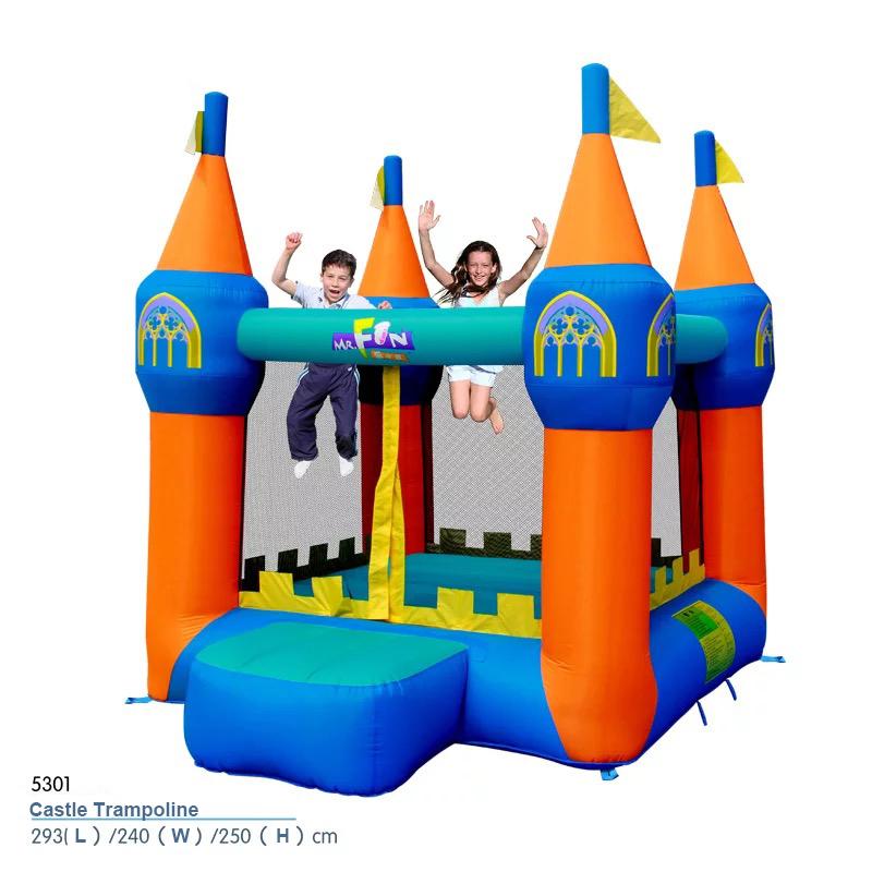 HTB1MuH4PXXXXXcFapXXq6xXFXXXG - Mr. Fun Inflatable Bouncer house Trampoline Inflated Castle Toy with Blower