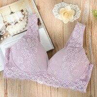 Bras Sexy Lingerie For Women Deep V Lace Plunge Bra Women S Underwear Push Up 75