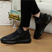 Classic Leisure Shoes Lace Up Unique Design Style Men s shoes Casual Shoes Increasing PU