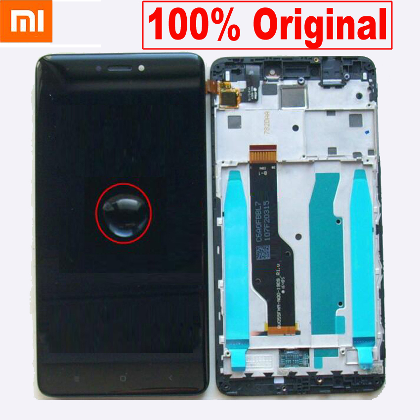 100% Original Best <font><b>For</b></font> <font><b>Xiaomi</b></font> <font><b>redmi</b></font> <font><b>note</b></font> <font><b>4X</b></font> <font><b>note</b></font> 4 Global Snapdragon 625 <font><b>LCD</b></font> <font><b>screen</b></font> <font><b>display</b></font> touch digitizer assembly with frame image