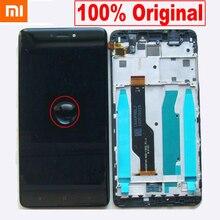 100% 오리지널 베스트 Xiaomi redmi note 4X note 4 글로벌 Snapdragon 625 LCD 스크린 디스플레이 터치 디지타이저 어셈블리 (프레임 포함)