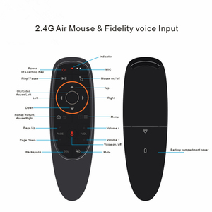 Image 2 - G10s голосовое дистанционное управление 2,4G Беспроводная воздушная мышь микрофон гироскоп ИК обучение для Android tv box T9 H96 Max X96 mini