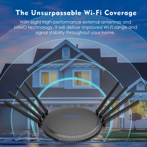 Image 5 - Wavlink Full Gigabit AC3000 Wireless wifi Router/Repeater MU MIMO Tri band 2.4/5Ghz  Smart Wi Fi Router Touchlink USB 3.0