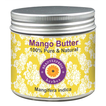 FRee Shipping Pure Mango Butter Mangifera indica 100% Natural Anti Wrinkle Heals Sun Damage 50g