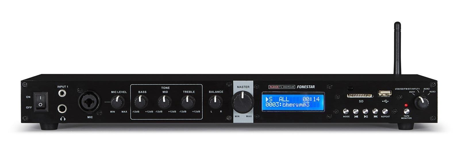 Solam enregistreur mixeur USB Mp3 Bluetooth Fonestar